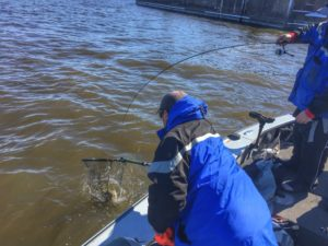 Leisure outdoor adventures fishing guide river report for Pool 4 mississippi river fishing report
