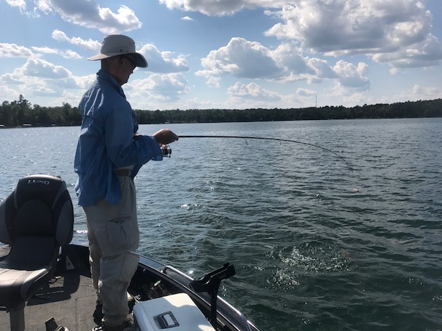 Leisure Outdoor Adventures weekly fishing report for the week of August 16