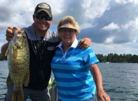 Leisure Outdoor Adventures fishing report for the week of August 21
